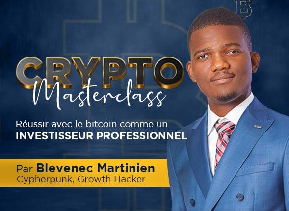 Crypto Masterclass : Réussir avec le bitcoin comme un investisseur professionnel